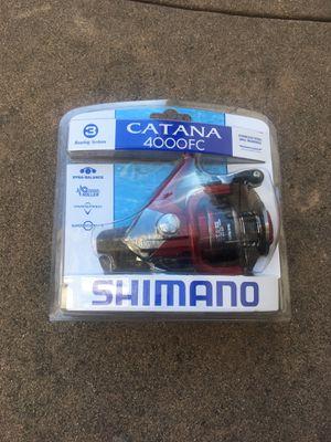Shimano Catana 4000 FC fishing reel for Sale in Sacramento, CA