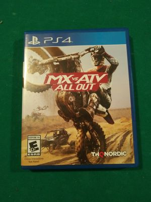 Mx Vs Atv ps4 for Sale in Orlando, FL