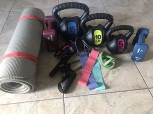 Workout set for Sale in Miami, FL