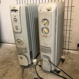 Oil Filled Radiant Heater (2) for Sale in Battle Ground, WA