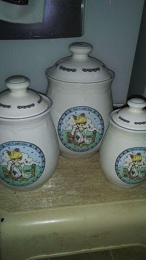 precious moments 1992 make a joyful noise 3 piece set and 3 mugs for Sale in Sanatoga, PA