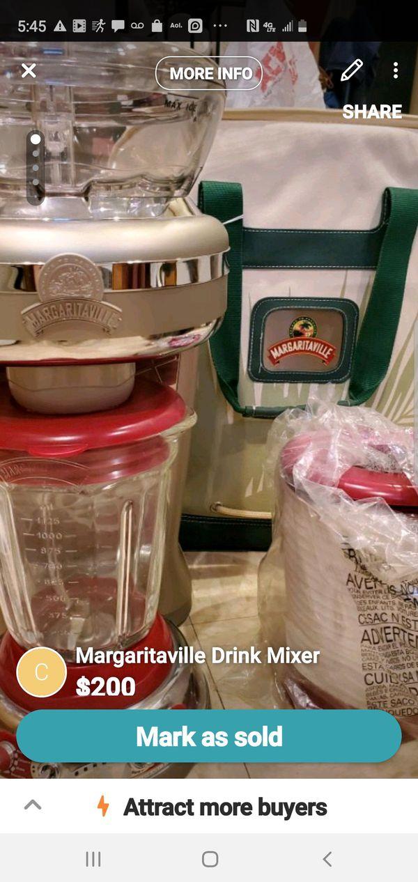 Margaritaville Drink mixer brand new