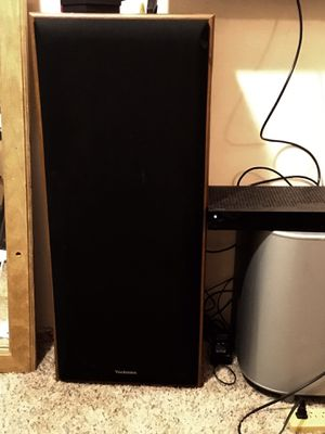 Technics speakers x2 for sale great condition. for Sale in Ada, OH