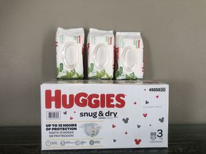 Huggies Bundle ONLY 3, 4, 5 $20.00 for Sale in Orlando, FL
