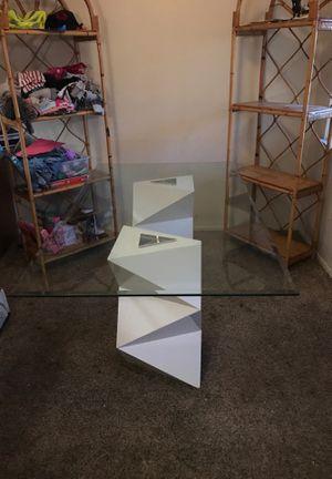Glass table for Sale in Lodi, CA