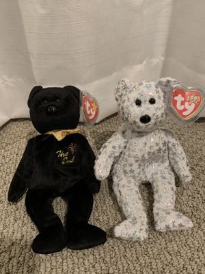 "Ty beanie baby ""the end"" and ""the beginning"" for Sale in Menifee, CA"