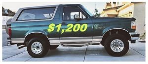 🚙🎁1996 Ford Bronco🔥$12OO🔥'One Owner🎁🚙 for Sale in Washington, DC