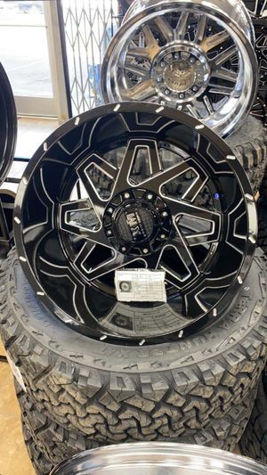 24x14 MONKEY RIMS AND TIRES 35125024 for Sale in Phoenix, AZ