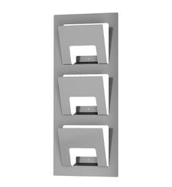 "IKEA Wall Door Mount Magazine Rack Holder Metallic Silver Size 31""x13"" for Sale in Alpharetta,  GA"