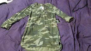 Express camo shirt dress for Sale in Des Plaines, IL