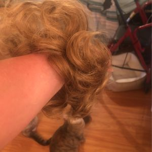 Dark Blond Curly Pony Tail Hair Extension for Sale in Lake Placid, FL