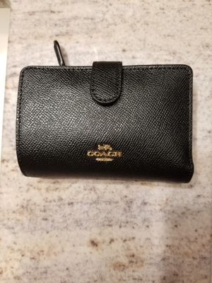 Used, but kept very nice and clean! Small Coach Wallet for Sale in Garland, TX