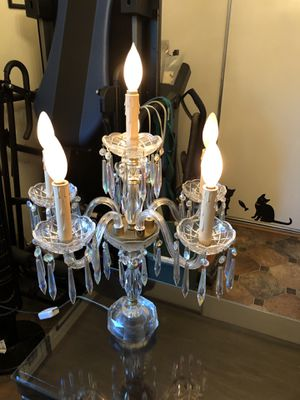 Aurora borealis candelabra lamp for Sale in West Covina, CA