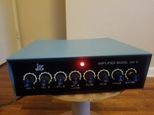 Extremely Rare Vintage J.W. Davis Amplifier Model 100-B for Sale in Tulsa, OK