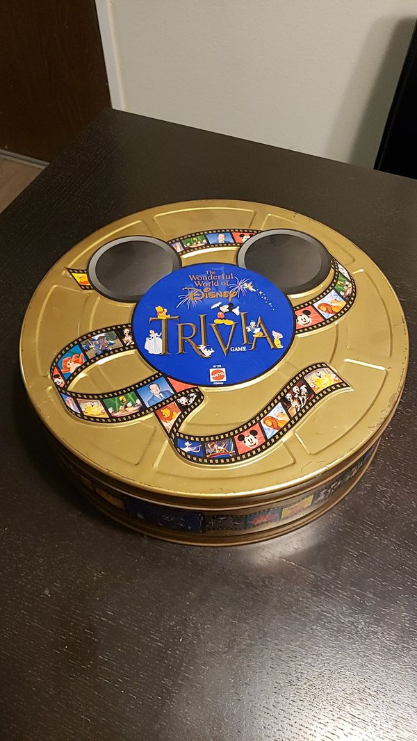 The Wonderful World Of Disney Trivia Board Game