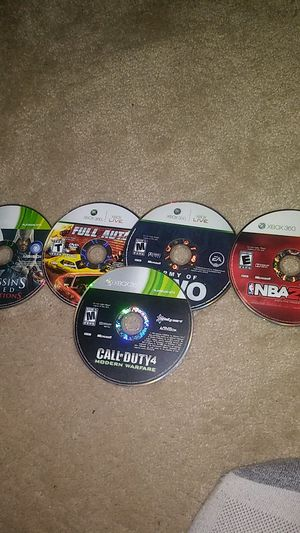 More Xbox 360 Games ! for Sale in Montclair, CA