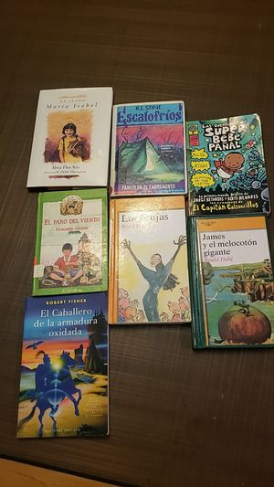 Literature in Spanish, 7 hardcover books for Sale in Irwindale, CA