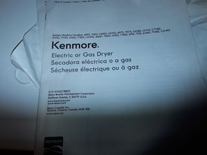 Kenmore Electric Dryer for Sale in Buhl, ID