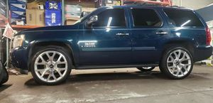 24 Inch Honeycomb GMC Chevy Cadillac Wheels Tires Lugs Locks Tpms sensors for Sale in Bensenville, IL