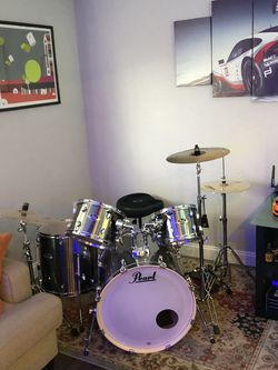 Pearl Export 5 Piece Drum Set for Sale in Fort Lauderdale,  FL