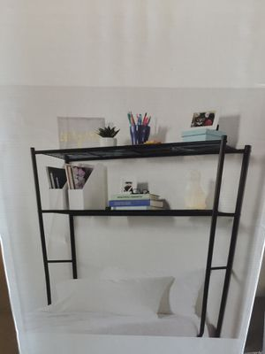 New in box- (2) Twin over-the-bed Storage Shelves-Each for Sale in Indianapolis, IN