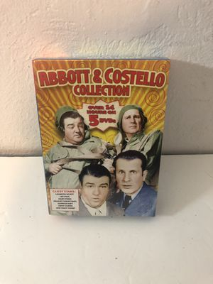 Abbot and Costello collection NEW SEALED 5 dvd set for Sale in Fresno, CA