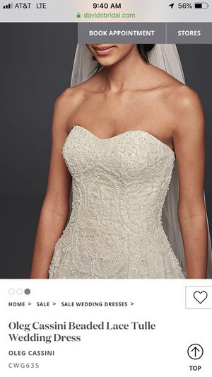 Wedding dress for Sale in Nederland, TX