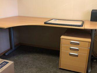 Ikea Galante Left Corner Desk for Sale in Federal Way,  WA