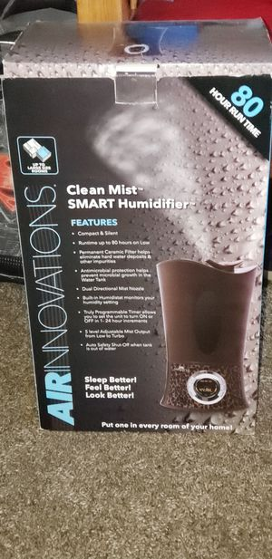 Clean mist Humidifier for Sale in Ontario, CA