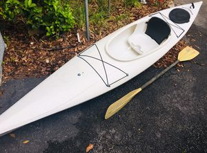 14ft Emotion Angler Fishing kayak Package for Sale in Tampa