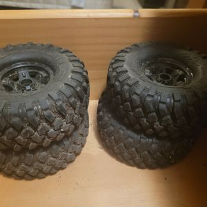 Traxxas Canyon Trail 1.9 Set Of Tires&Rims for Sale in Naugatuck, CT