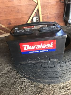 Duralast truck battery for Sale in Cicero, IL
