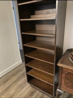Walk in closet organizer Oak wood shelves for Sale in Plantation, FL