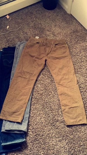 Khaki Levi's Jeans for Sale in Morrisville, PA