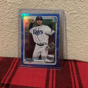 Bowman Chrome Tampa Bay Rays Xavier Edwards #5/150! for Sale in San Antonio, TX