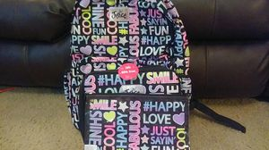 Justice Backpack, Lunch Box, and Pencil Case Set For Girl's. for Sale in Durham, NC