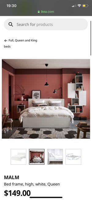 Ikea MALM bed frame for Sale in Tacoma, WA