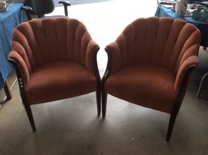 Vintage Antique Art Nouveau Swan Chairs for Sale in Tigard, OR