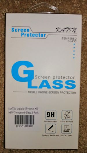 iPhone XR /iPhone 11 Tempered Glass Screen Protector for Sale in Columbia, MD