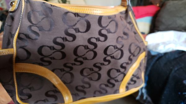 Sophia Caperelli Brown Leather Shoulder Bag & Brown/Tan Coach Purse