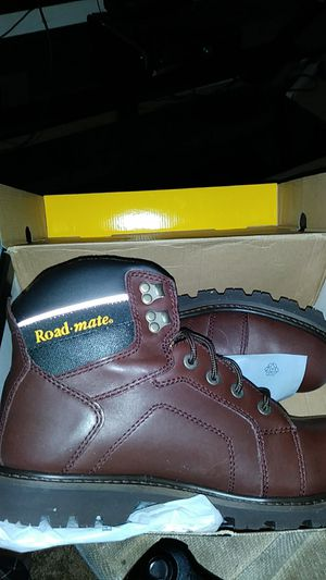 Road mate work boots steele toe for Sale in Detroit, MI
