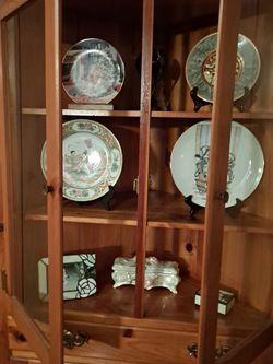 Vintage Corner Cabinet Pine Mastercraft for Sale in Casselberry,  FL