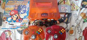 Nintendo 64 orange for Sale in Los Angeles, CA