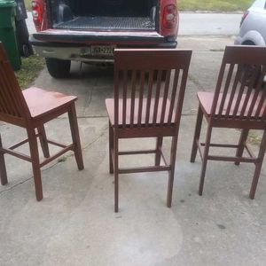3 Bar Stools for Sale in Houston, TX