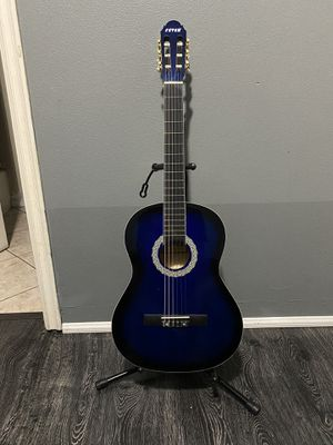 blue fever classic acoustic guitar for Sale in Cudahy, CA