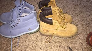 Size 3YOUTH timberland boots for Sale in Mesquite, TX