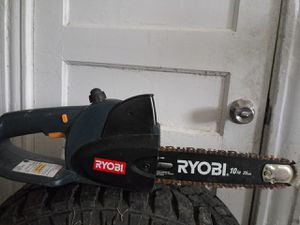 Ryobi battery operated chainsaw for Sale in St. Louis, MO