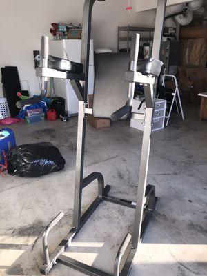 Power Tower Dip/Knee Raise/Push Up Machine for Sale in Camas, WA