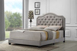 Upholstered Queen Bed Frame for Sale in Joint Base Lewis-McChord, WA