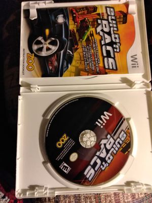 Build n race game for Nintendo Wii for Sale in Las Vegas, NV